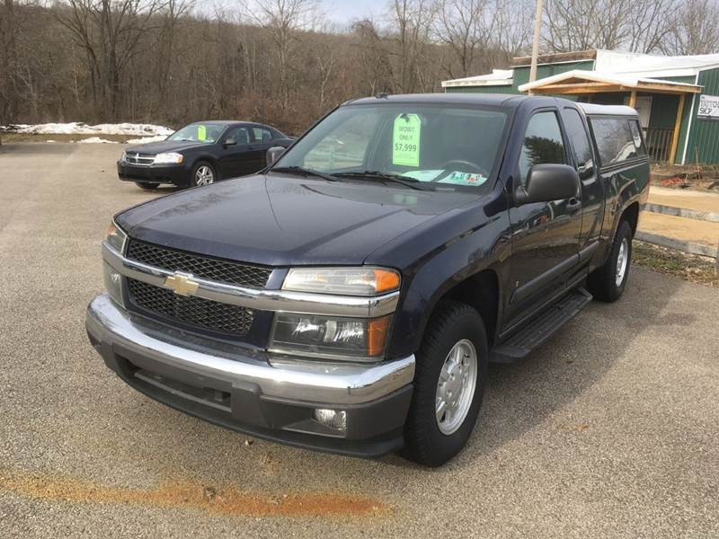 2008 Chevrolet Colorado 4x2 Work Truck Extended Cab 4dr - Saegertown PA