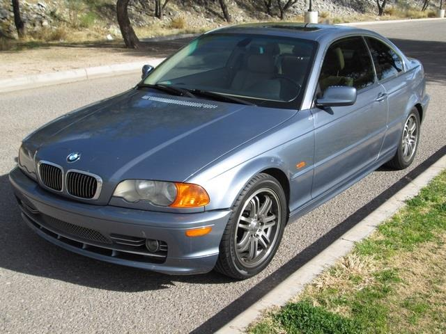 2001 BMW 3 SERIES 330CI W SPORTS PACKAGE steel blue metallic at noble motors we realize that you