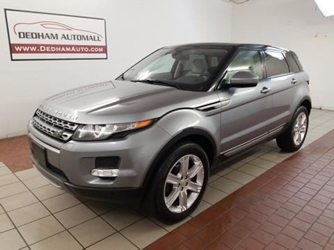 2014 Land Rover Range Rover Evoque for sale in Dedham, MA