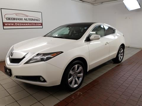 2010 Acura ZDX for sale in Dedham, MA