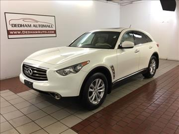 2013 Infiniti FX37 for sale in Dedham, MA
