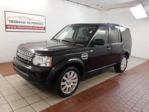 2013 Land Rover LR4 for sale in Dedham, MA