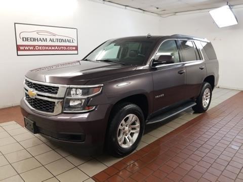 2015 Chevrolet Tahoe for sale in Dedham, MA