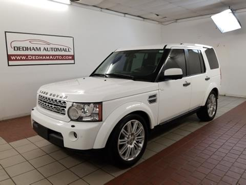 2011 Land Rover LR4 for sale in Dedham, MA