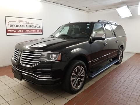 2016 Lincoln Navigator L for sale in Dedham, MA