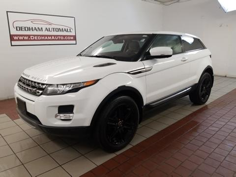 2013 Land Rover Range Rover Evoque Coupe for sale in Dedham, MA