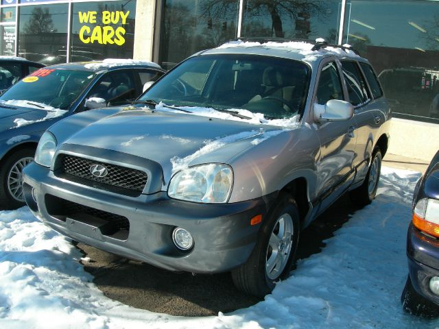 2004 HYUNDAI SANTA FE GLS 27L silver very nice car runs great air conditioningalloy wheelsamfm