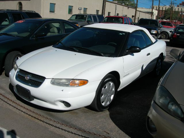1998 CHRYSLER SEBRING JX white air conditioninganti-brake system non-abs  4-wheel absbody styl