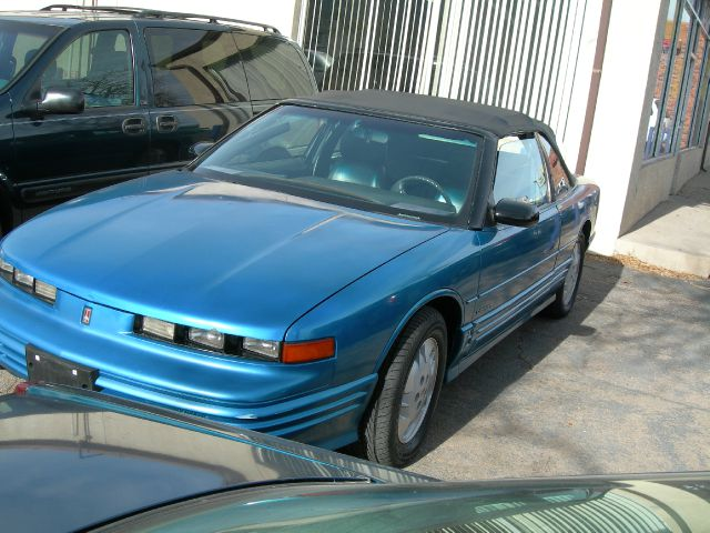 1992 OLDSMOBILE CUTLASS SUPREME CONVERTIBLE blue air conditioningalloy wheelsanti-brake system
