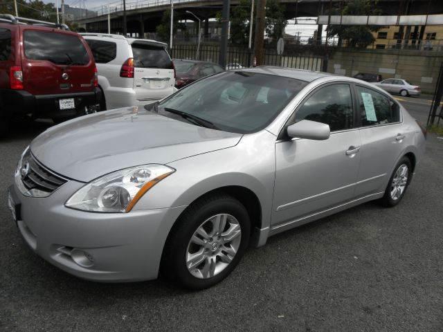 2012 Nissan Altima 2 5 S 4dr Sedan In Newark Nj Nj