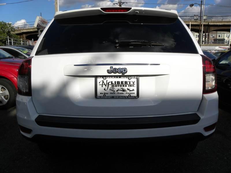 2015 jeep compass sport 4dr suv in newark nj nj liberty for Motor city newark nj