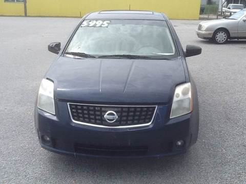 Nissan sentra for sale in florence sc for Thoroughbred motors florence sc