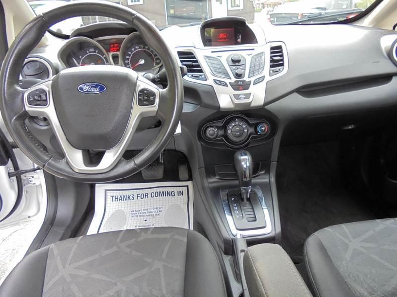 2013 Ford Fiesta SE 4dr Sedan - Springfield VT