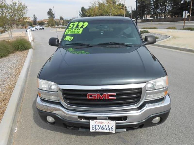 2003 GMC Sierra 1500 SLE - Rancho Cucamonga CA