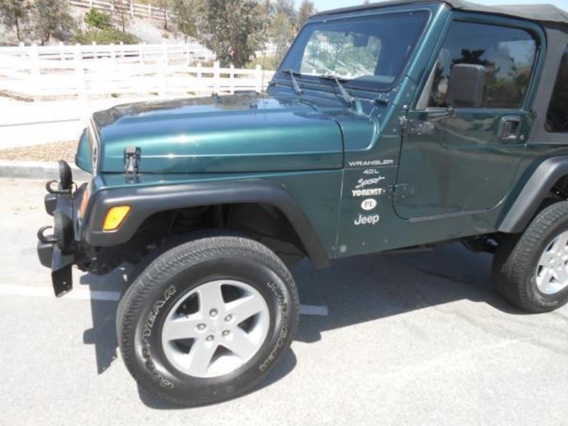 2000 Jeep Wrangler 2dr Sport 4WD SUV - Rancho Cucamonga CA