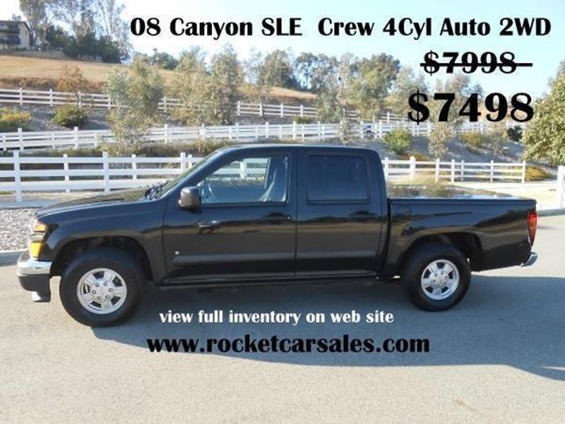 2008 GMC Canyon SLE 4dr Crew Cab SB - Rancho Cucamonga CA