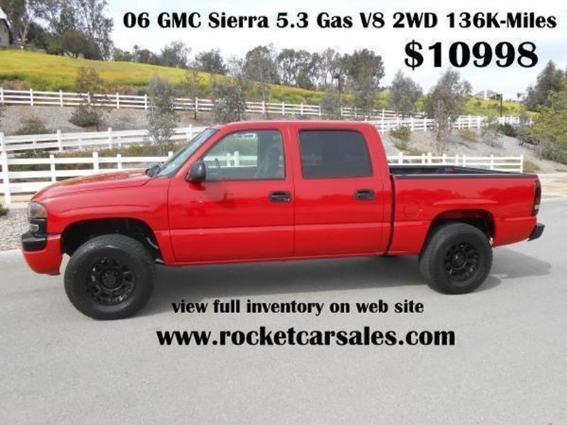 2006 GMC Sierra 1500 SLE - Rancho Cucamonga CA