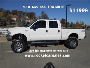 2002 Ford F-250 Super Duty & Ford Used Cars financing For Sale Rancho Cucamonga Rocket Car Company markmcfarlin.com