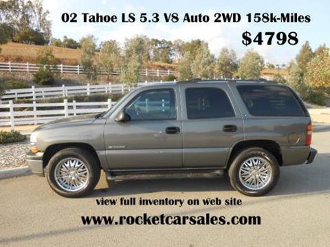 2002 Chevrolet Tahoe for sale in Rancho Cucamonga, CA