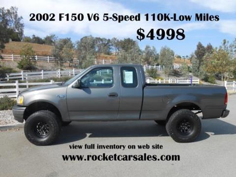 2002 Ford F-150 for sale in Rancho Cucamonga, CA