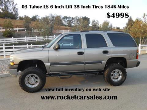 2003 Chevrolet Tahoe for sale in Rancho Cucamonga, CA