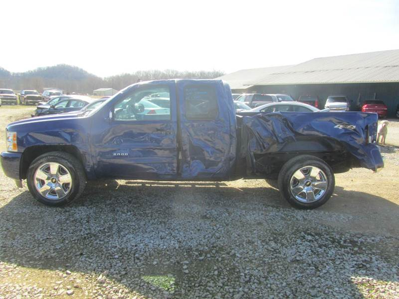 2010 Chevrolet Silverado 1500 4x4 LT 4dr Extended Cab 6.5 ft. SB - South Shore KY