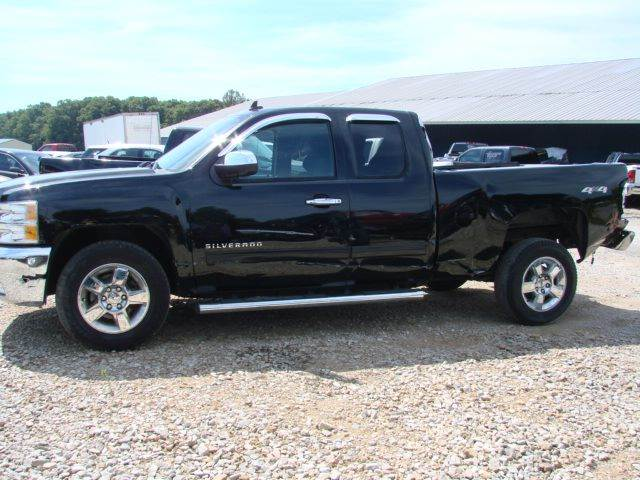 2012 Chevrolet Silverado 1500 4x4 LT 4dr Extended Cab 6.5 ft. SB - South Shore KY