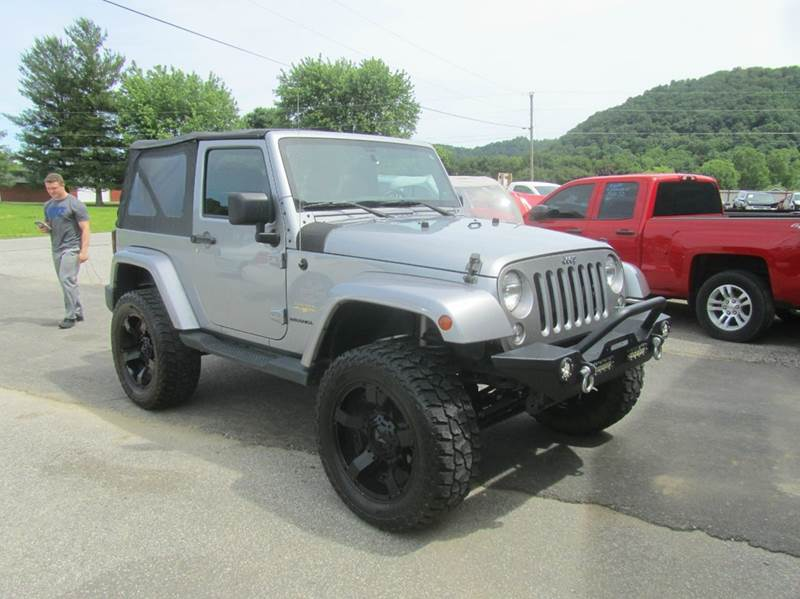 2014 Jeep Wrangler 4x4 Sahara 2dr SUV - South Shore KY