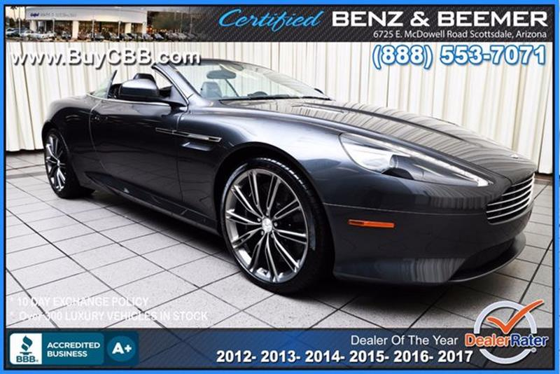 Aston Martin Virage For Sale In Rancho Cordova Ca Carsforsale Com