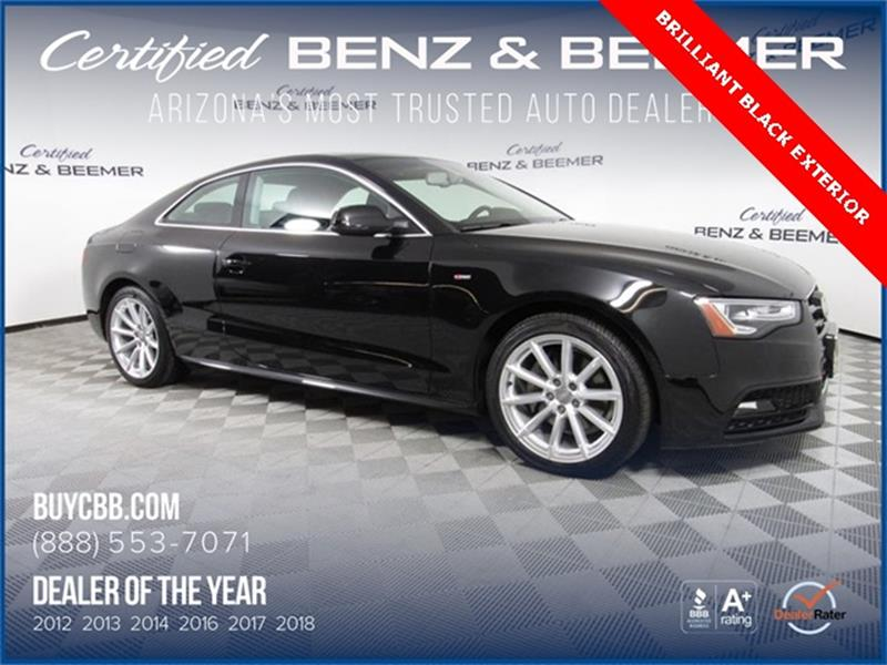 2016 Audi A5 Awd 20t Quattro Premium Plus 2dr Coupe 8a In