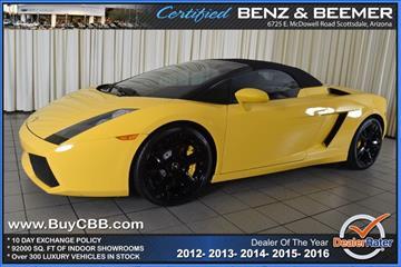 2007 Lamborghini Gallardo for sale in Scottsdale, AZ