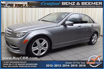 2011 Mercedes-Benz C-Class for sale in Scottsdale, AZ