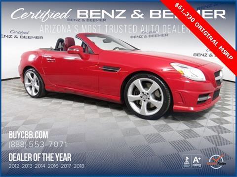 2016 Mercedes-Benz SLK for sale in Scottsdale, AZ