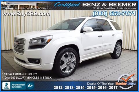2013 GMC Acadia for sale in Scottsdale, AZ