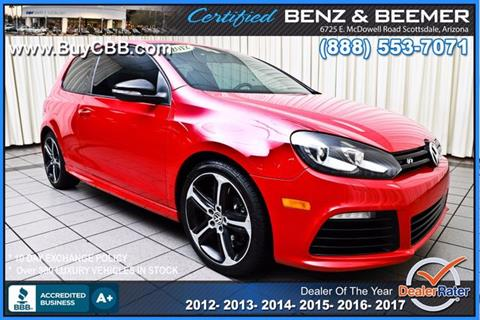 2012 Volkswagen Golf R for sale in Scottsdale, AZ