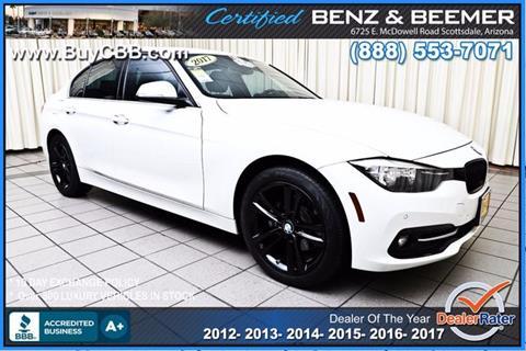 2017 BMW 3 Series for sale in Scottsdale, AZ