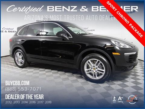 2016 Porsche Cayenne for sale in Scottsdale, AZ