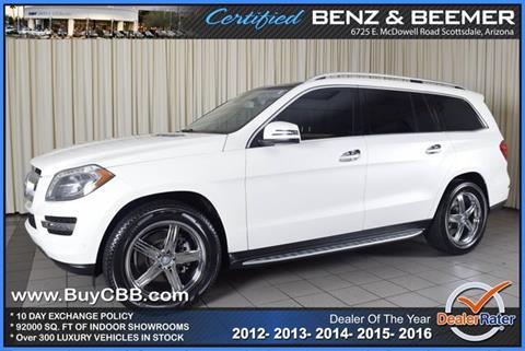 2013 Mercedes-Benz GL-Class for sale in Scottsdale, AZ