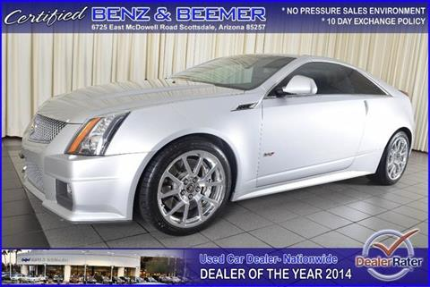 2012 Cadillac CTS-V for sale in Scottsdale, AZ