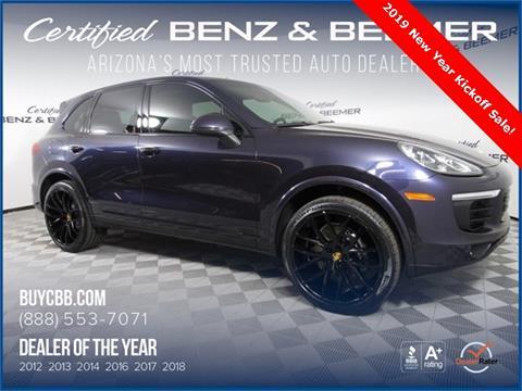 2017 Porsche Cayenne for sale in Scottsdale, AZ