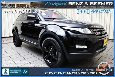 2014 Land Rover Range Rover Evoque Coupe for sale in Scottsdale, AZ