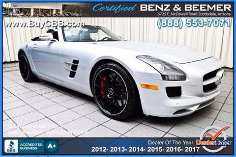 2012 Mercedes-Benz SLS AMG for sale in Scottsdale, AZ