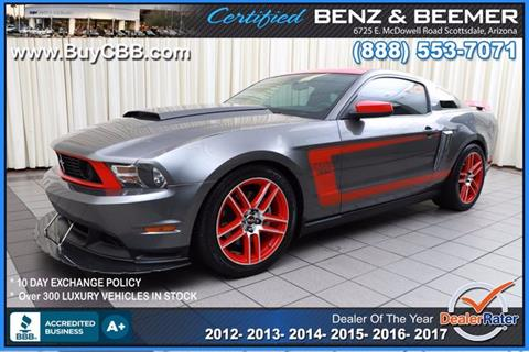 2012 Ford Mustang for sale in Scottsdale, AZ