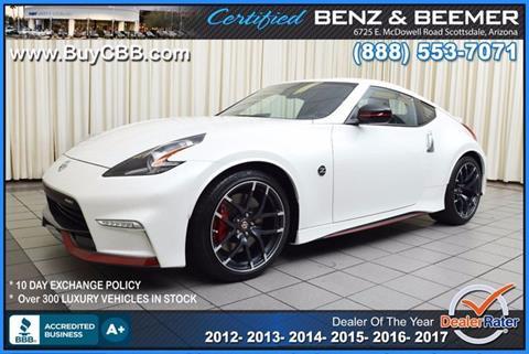 2015 Nissan 370Z for sale in Scottsdale, AZ