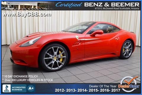 2014 Ferrari California for sale in Scottsdale, AZ