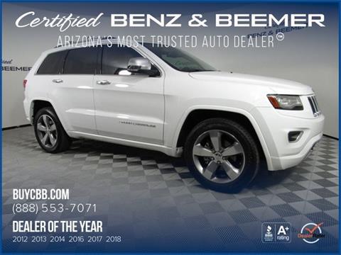 2014 Jeep Grand Cherokee $24,500