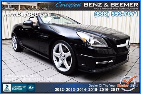 2013 Mercedes-Benz SLK for sale in Scottsdale, AZ