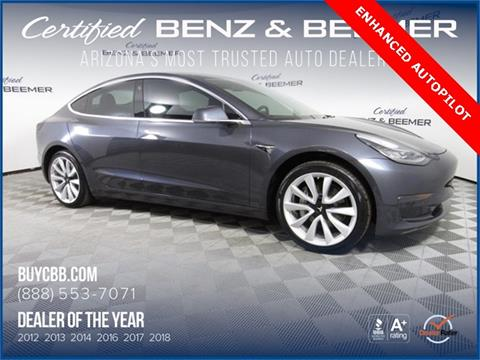 2018 Tesla Model 3 for sale in Scottsdale, AZ