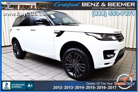 2016 Land Rover Range Rover Sport for sale in Scottsdale, AZ