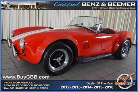 1967 Shelby Cobra for sale in Scottsdale, AZ